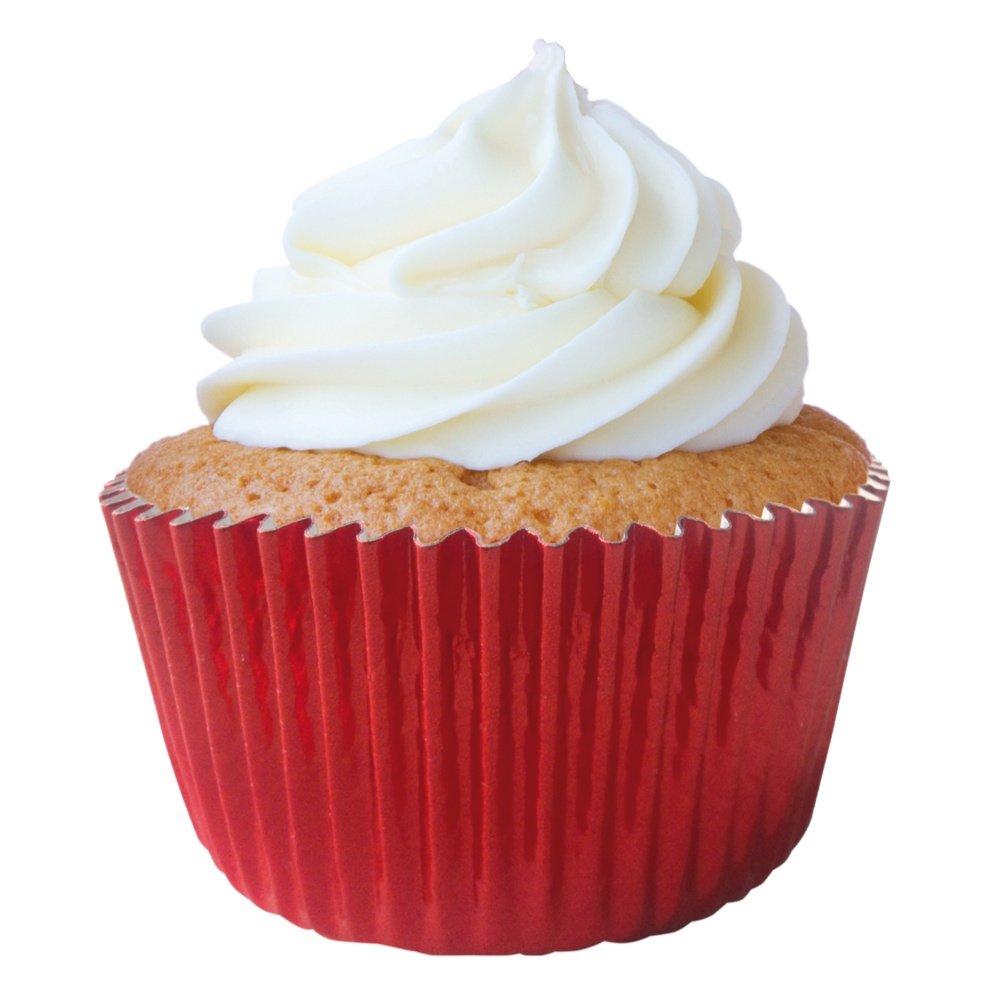 Forminha-Cupcake-Metalizado-Vermelha-N.0---1000Un