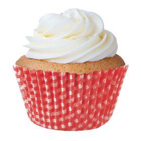 Forminha-Cupcake-Xadrez-Vermelha-N.0---900Un