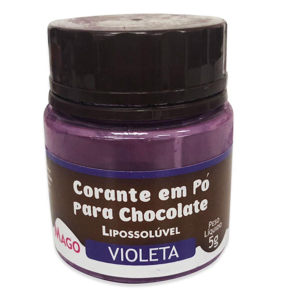 Corante Em Pó Para Chocolate Violeta 5g